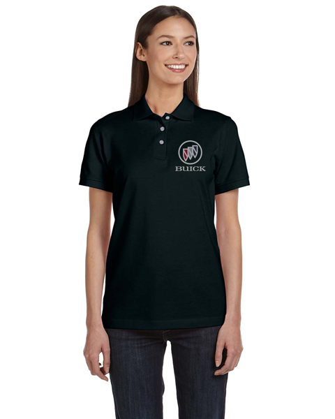 Buick Shield Ladies Cotton Blend polo