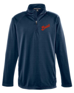 Buick 1913 Script Stretch Athletic 1/4 ZIP Pullover Jacket
