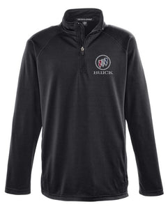 Buick Shield Stretch Athletic 1/4 ZIP Pullover Jacket