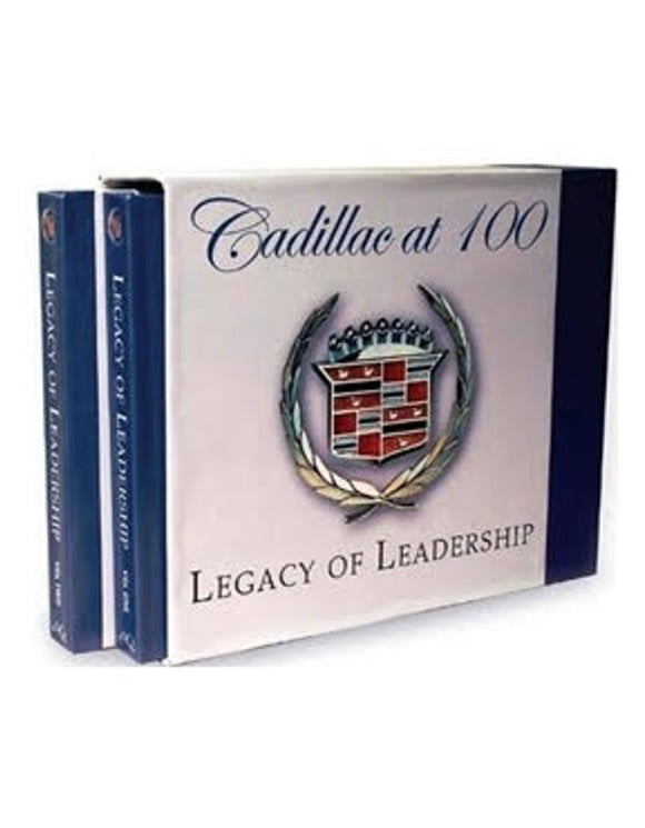 CADILLAC at 100 LEGACY of LEADERSHIP (2 book set) **CALL FOR SHIPPING OUTSIDE OF USA**