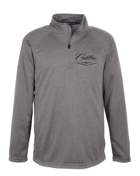 Cadillac 50's Athletic 1/4 ZIP Pullover Jacket