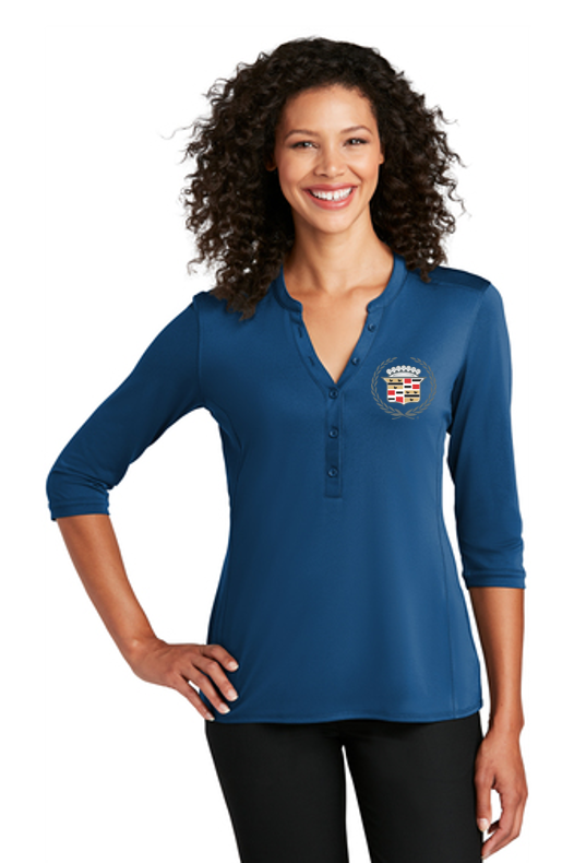 Cadillac 1960's Ladies Henley Shirt