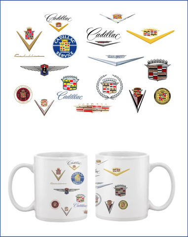 CLC Cadillac Through the years Coffee mug
