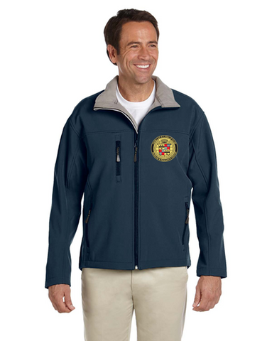 Cadillac & LaSalle Museum Soft Shell Fleece Lined jacket