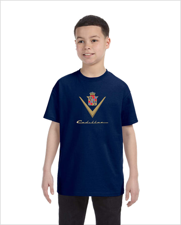 Cadillac 40's kids youth t-shirt