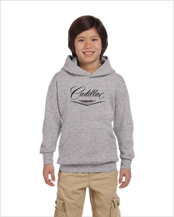 Cadillac 50's kids youth hoodie