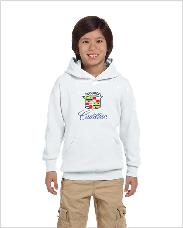 Cadillac 80's kids youth hoodie