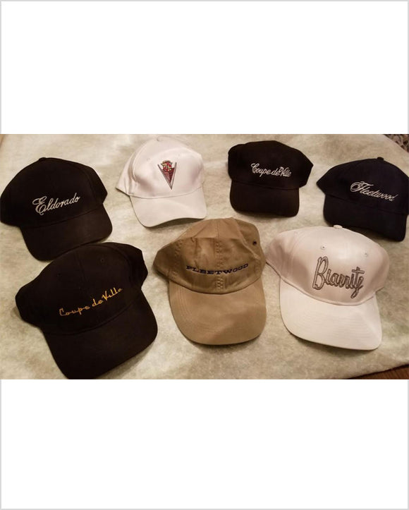 Cadillac Vintage Model Collection Hats