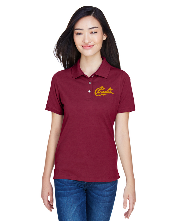 Chevrolet 1911 Ladies Cotton Blend polo
