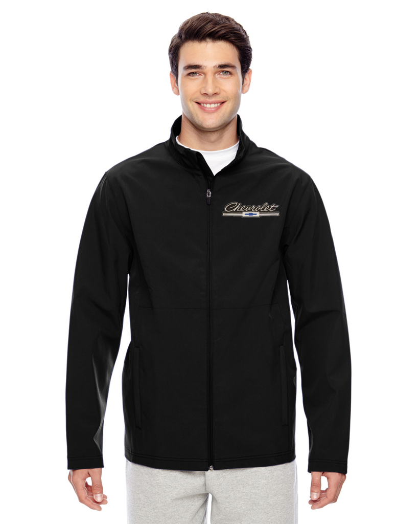 Chevrolet Script and Bowtie Lightweight Soft Shell Jacket