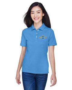 Chevrolet 1940s  Ladies Cotton Blend polo