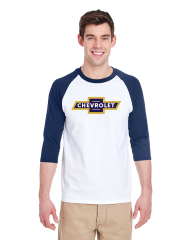 Chevrolet 1952 Raglan Baseball T-Shirt