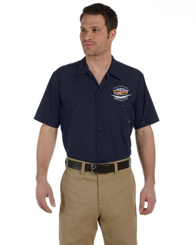 Modified Cadillac Chapter DICKIES Mechanics shirt