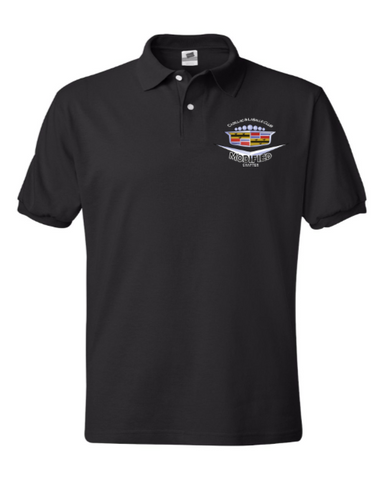 Modified Cadillac Chapter cotton polo