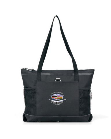 Modified Cadillac LaSalle Chapter Nylon Denier durable zippered tote