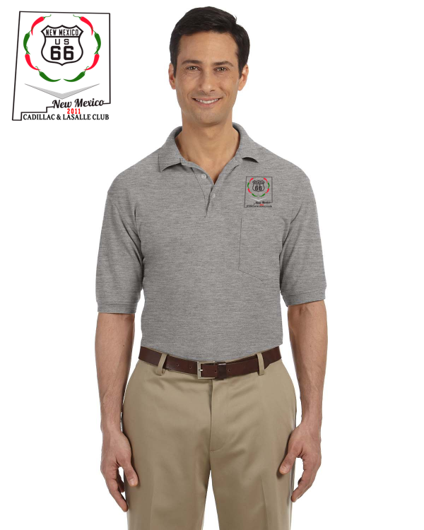 CLC New Mexico Region cotton blend POCKET Polo