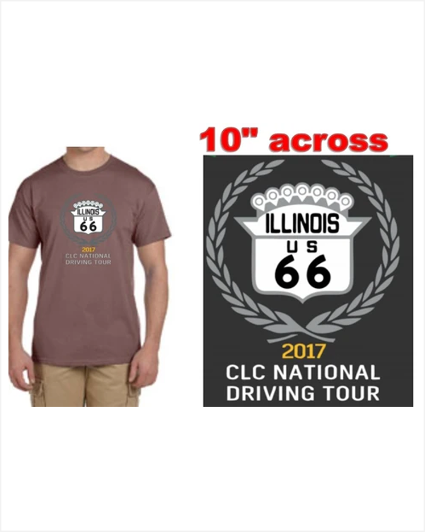 CLC Route 66 Tour T-shirt