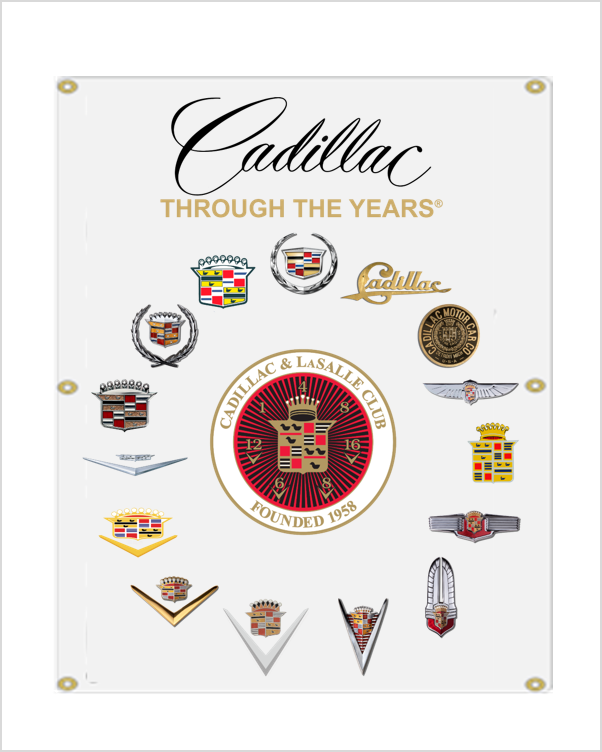 Cadillac LaSalle Club Cadillac Through the Years Banner