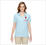 Pontiac Ladies Y-Collar Pique Polo