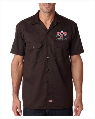 Pontiac 60's Firebird DICKIES Mechanic shirts