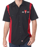 Pontiac GTO Dickies Regular Fit Short Sleeve Two-Tone Mechanics Shirt