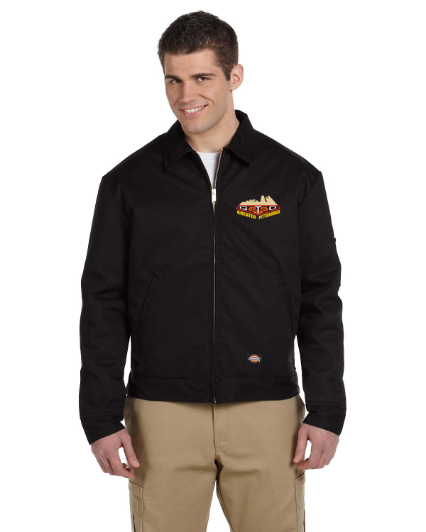 GREATER PITTSBURGH GTO CLUB Embroidered Dickies Eisenhower Lined Mechanics Jacket