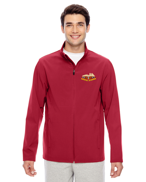 GREATER PITTSBURGH GTO CLUB Embroidered Soft Shell Lightweight jacket