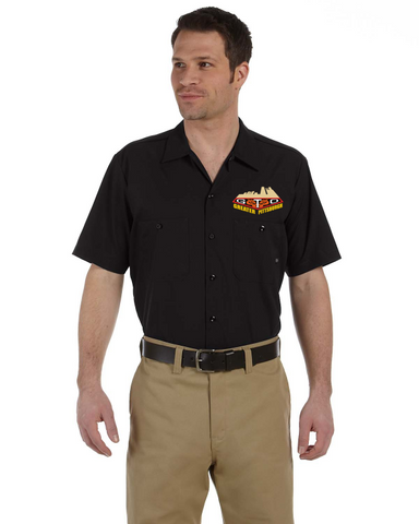 GREATER PITTSBURGH GTO CLUB Embroidered Mechanic shirts