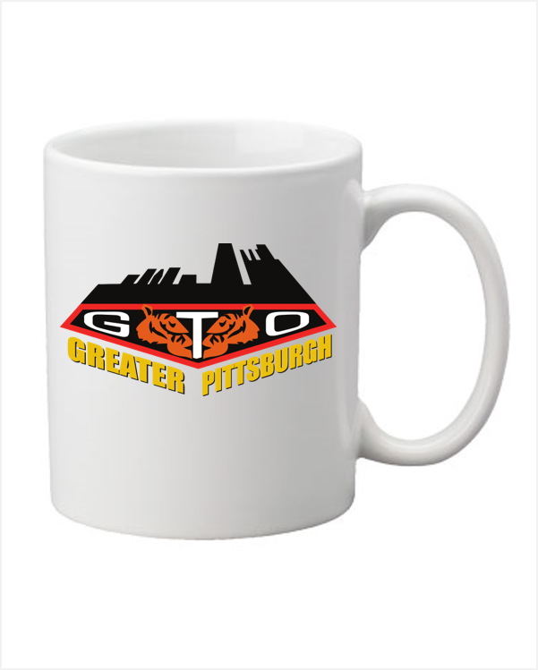 GREATER PITTSBURGH GTO  Coffee Mug