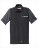 Hummer Red Kap Short Sleeve Two-Tone Mechanic Shirt