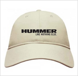 "HUMMER ""Like Nothing Else"" Cotton Twill Hat"