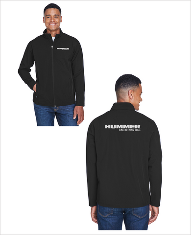 "HUMMER ""Like Nothing Else"" Soft Shell Lightweight jacket (WITH FULL BACK EMBROIDERY)"