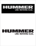 "HUMMER ""Like Nothing Else"" T-Shirt Printed"