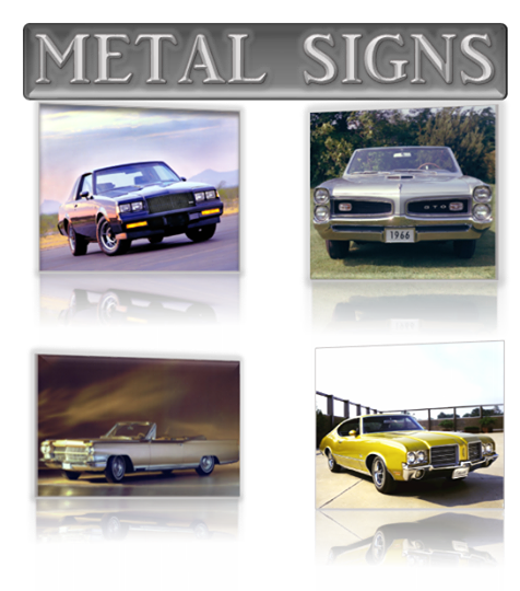 Make your own Metal Sign or License Plate