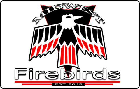 "Midwest Firebird 12 x 18"" Metal sign"