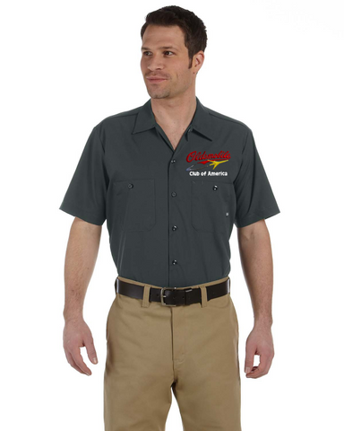 OCA Oldsmobile NEW Script with Rocket logo Dickies Mechanic shirt