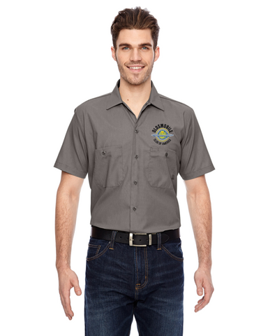 OCA Oldsmobile NEW Globe design Dickies Mechanic Shirt