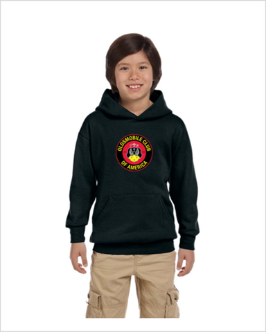 OCA Oldsmobile Club of America kids youth hoodie