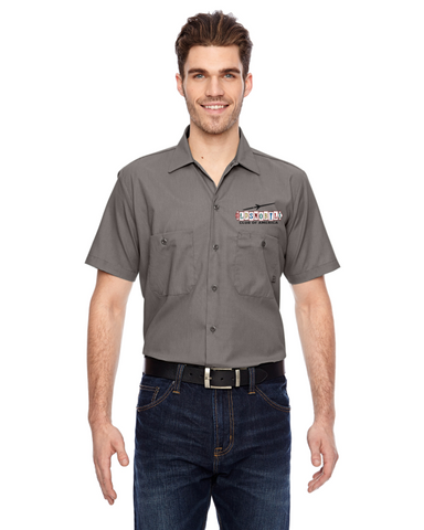 OCA Oldsmobile NEW Late 50's design Dickies Mechanic Shirt