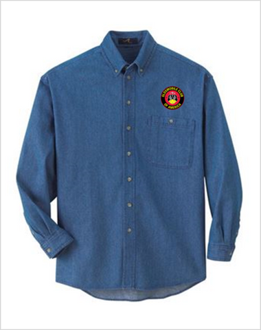 OCA Oldsmobile Club of America Denim shirt