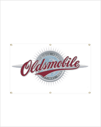 Oldsmobile FInal 500 Garage Banner