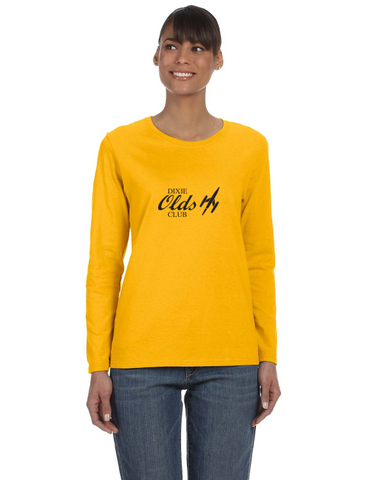 OCA Dixie Chapter Ladies LONG Sleeve V-neck Gildan T-shirt