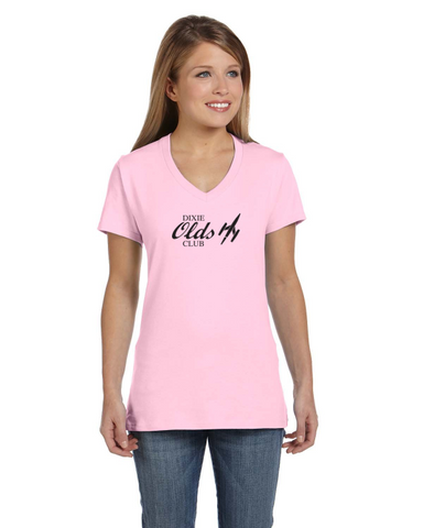 OCA Dixie Chapter Ladies Short sleeve V-neck Gildan T-shirt