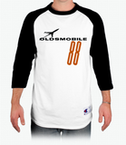 Oldsmobile Rocket 88 Raglan Baseball T-Shirt
