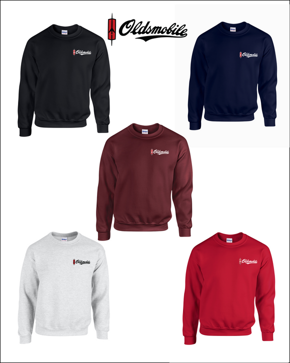 Oldsmobile Embroidered Sweatshirts