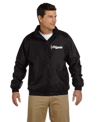 Oldsmobile Script Fleece Lined Windbreaker