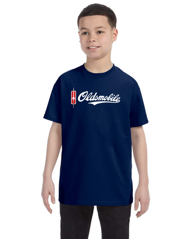 Oldsmobile Script kids youth t-shirt
