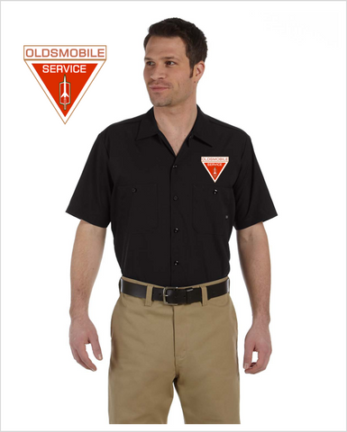 Oldsmobile Service DICKIES Mechanics shirt