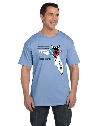 POCI TAMPA Short Sleeve T-shirt- FRONT print