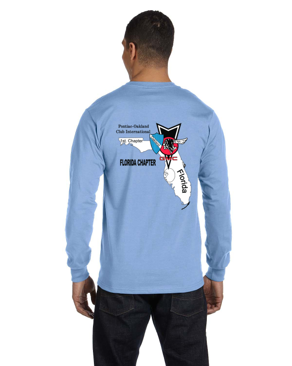 POCI TAMPA Long Sleeve T-shirt- BACK print